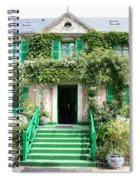 Claude Monets Home Spiral Notebook