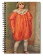 Claude Renoir In A Clown Costume Spiral Notebook