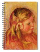 Claude Renoir Spiral Notebook