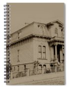 Clay And Hyde Street's San Francisco Built In 1874 Burned In The 1906 Fire Spiral Notebook