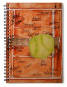 Clay Courters Spiral Notebook