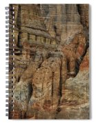 Clay Mountain Formations In Front Spiral Notebook