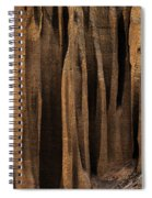 Clay Organ Pipes Formation In Front Spiral Notebook