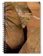 Clay Pots   #7806 Spiral Notebook