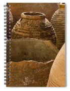 Clay Pots   #7811 Spiral Notebook