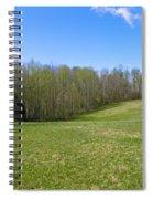 Clean Green Spiral Notebook