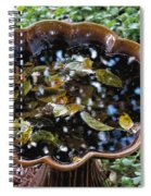 Cleanup In The Garden Spiral Notebook
