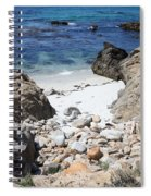 Clear California Cove Spiral Notebook