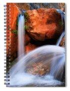 Clear Creek Falls Spiral Notebook