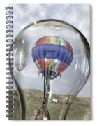 Clear Idea Spiral Notebook