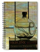 Clear On Color Spiral Notebook