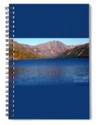 Clear Water Lake Spiral Notebook