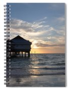 Clearwater Florida Pier 60 Spiral Notebook