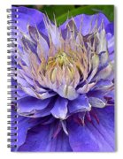 Clematis Blue Spiral Notebook