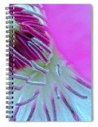 Clematis Pistils Spiral Notebook