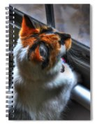 Cleo Bird Watching Spiral Notebook