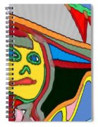 Cleo Waiting Spiral Notebook