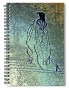 Cleopatra's Ghost Spiral Notebook