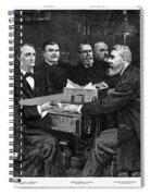Cleveland Cabinet, 1893 Spiral Notebook