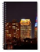 Cleveland Cityscape Spiral Notebook