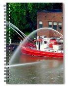 Cleveland Firehouse Spiral Notebook