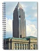 Cleveland Key Bank Building Spiral Notebook