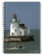 Cleveland Lighthouse Spiral Notebook