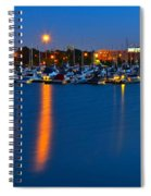 Cleveland Ohio Skyline Spiral Notebook