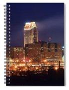 Cleveland Panoramic Night Spiral Notebook