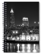 Cleveland Shining Bright Spiral Notebook