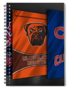 Cleveland Sports Teams Spiral Notebook