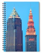 Clevelands Iconic Towers Spiral Notebook