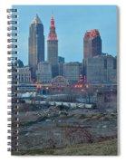 Clevelands Urban Side Spiral Notebook