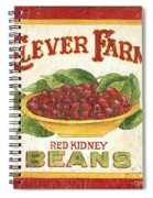 Clever Farms Beans Spiral Notebook