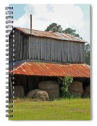 Clewis Family Tobacco Barn Spiral Notebook
