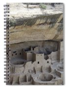 Cliff Palace Overview Spiral Notebook