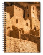 Cliff Palace Townhomes Spiral Notebook