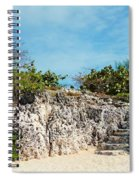 Cliff Stairs 2 Spiral Notebook
