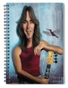 Cliff Williams Spiral Notebook