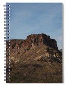 Cliffs Above Apache Lake Spiral Notebook