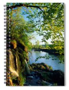 Cliffs And Trees Along Malanaphy Spiral Notebook