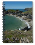 Cliffs In Bretagne Spiral Notebook