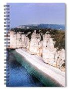 Cliffs Of Etretat 1 Spiral Notebook