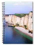 Cliffs Of Etretat 3 Spiral Notebook