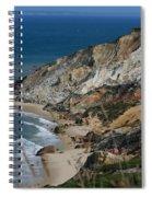 Cliffs Of Gay Head At Aquinnah Spiral Notebook