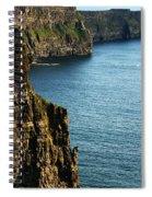 Cliffs Of Moher Clare Ireland Spiral Notebook