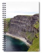 Cliffs Of Moher Panorama 1 Spiral Notebook