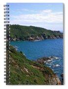 Cliffs On Isle Of Guernsey Spiral Notebook