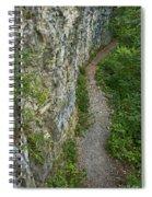Cliffside Path Spiral Notebook