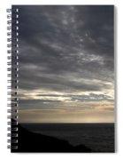 Clifftop Silhouettes Spiral Notebook